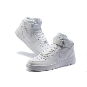 кроссовки Nike Air Force 1 Mid '07 High white