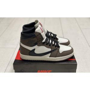 Зимние кроссовки на меху Jordan 1 Retro High