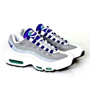 кроссовки Nike Air Max 95 серо белые