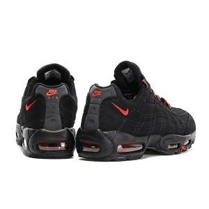 кроссовки Nike Air Max 95 мужские черно-красные