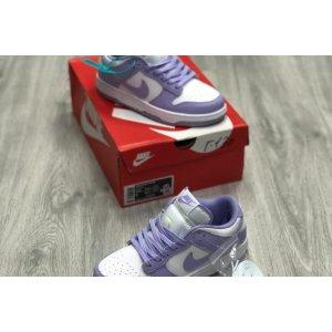 кроссовки Jordan 1 Low Lavender