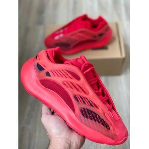кроссовки Adidas Yeezy 700 v3 Azael красные