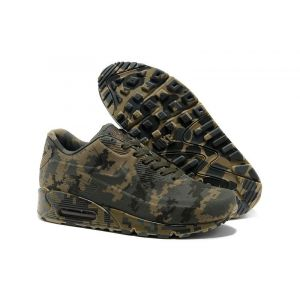 кроссовки Nike Air Max 1 VT Military Camouflage (Green/Coffee)