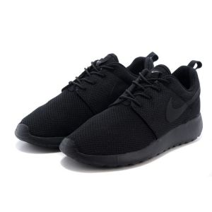 кроссовки Nike Roshe Run (All Black)