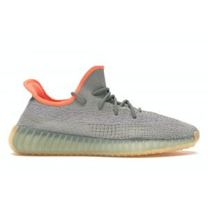 кроссовки Adidas Yeezy 350 v2 Boost Grey Orange