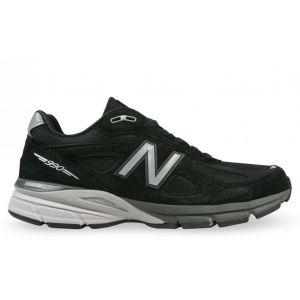 кроссовки New Balance 990 замшевые черные
