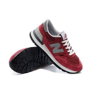 кроссовки New Balance 990 (Burgundy/Grey)