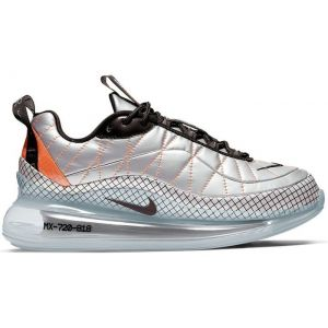 Nike MX 720 818 Metallic Silver Total Orange