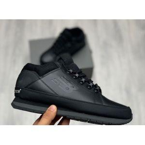 кроссовки New Balance 754 черные кожаные
