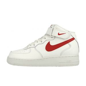 кроссовки Nike Air Force 1 Mid 07 White Red