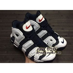 Кроссовки Nike Air More Uptempo Black White