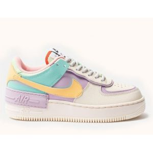 Женские кроссовки  Air Force 1 Shadow Pale Ivory/Tropical Twist