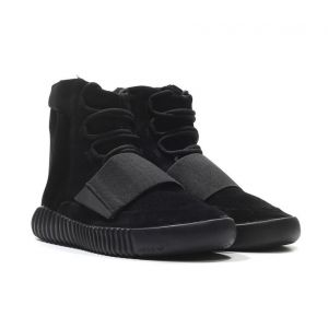 кроссовки Adidas Yeezy 750 Boost By Kanye West Triple Black