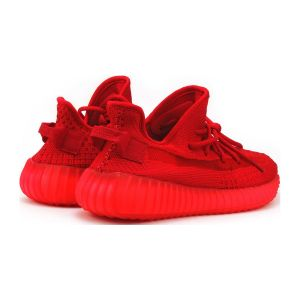красные кроссовки Adidas Yeezy 350 Boost V2 By Kanye West
