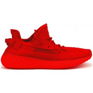 красные кроссовки Adidas Yeezy 350 Boost V2 By Kanye West