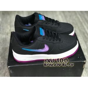 Nike Air Force 1 Low Jelly Jewel Black женские