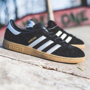 кроссовки Adidas Munchen черные
