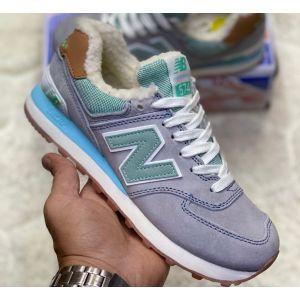 Зимние кроссовки на меху New Balance 574