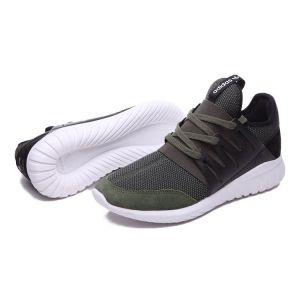 кроссовки Adidas Tubular  серо-коричневые