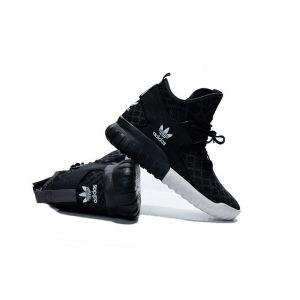 кроссовки Adidas Tubular High черные