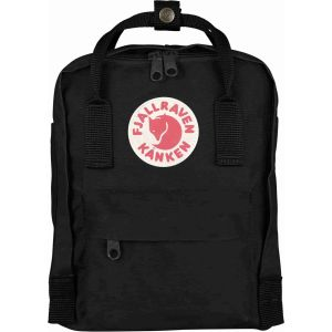 Kanken Mini Rainbow Black
