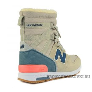 New Balance Snow Boots Women (Beige/Blue)