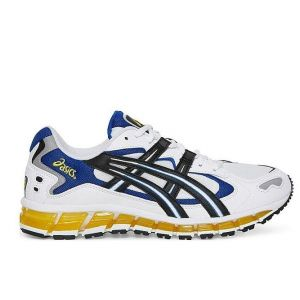 Asics Gel Kayano 5 360 white blue yellow