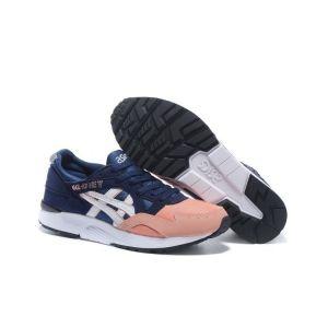 Купить кроссовки Asics Gel Lyte 5 женские сине-розовый