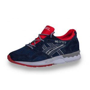 Купить кроссовки Asics Gel Lyte 5 женские синие, красные