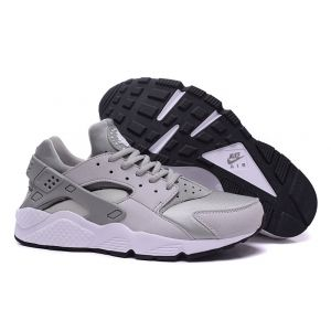 Nike Air Huarache (Grey-Silver) кроссовки