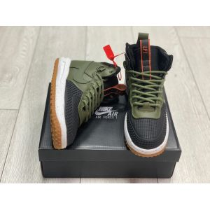 Nike Lunar Force 1 Duckboot 'Dark Loden' на меху