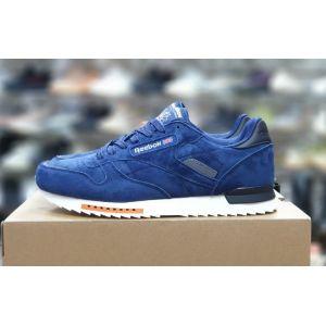 Reebok Classic замшевые синие