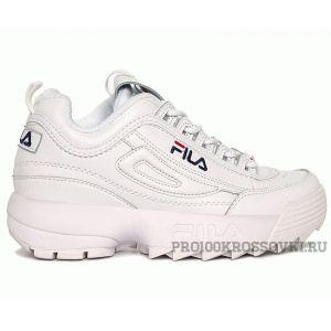 Кроссовки FILA Disruptor II Sneaker белые