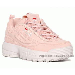 Женские кроссовки FILA Disruptor II Sneaker розовые
