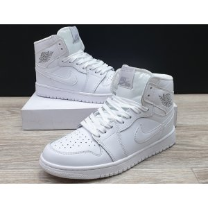 кроссовки Air Jordan 1 Retro High White