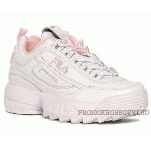 Женские кроссовки FILA Disruptor II Sneaker WhitePink