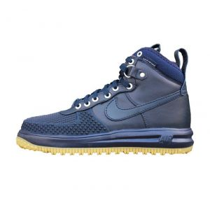 Nike Lunar Force 1 Duckboot синие