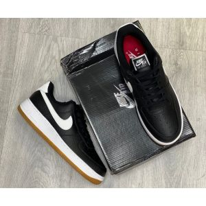 кроссовки Nike Air Force 1 Low Black Gym