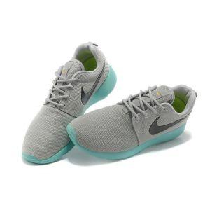 кроссовки Nike Roshe Run (Pure Platinum/Anthracite/Calypso)