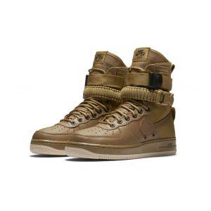 Высокие кроссовки Nike SF Air Force 1 High коричневые