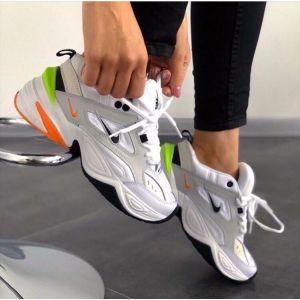 Кроссовки Nike M2K Tekno black lime pink