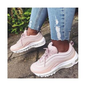кроссовки женские Air Max 97 Barely Rose Black Sole
