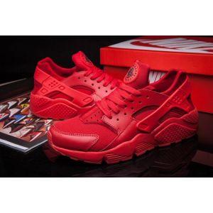Купить кроссовки Nike Air Huarache красные