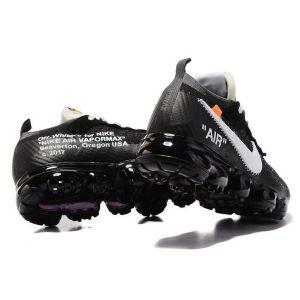 кроссовки OFF-White Nike Vapormax Black-White