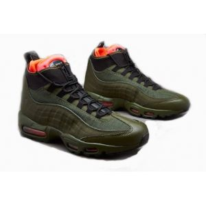 Кроссовки мужские Nike Air Max 95 Sneakerboot оливковые
