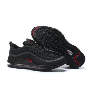 Кроссовки Nike Air Max 97 Premium Tape Black and Red