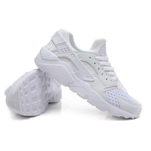 кроссовки Nike Air Huarache Platinum White