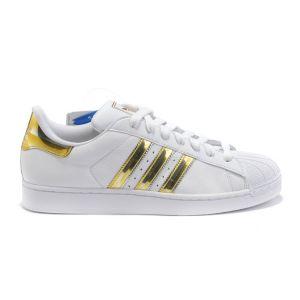 Adidas Superstar (Vintage White/Gold)