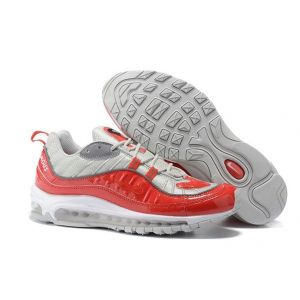 Nike Air Max 98 Supreme Red  Silver