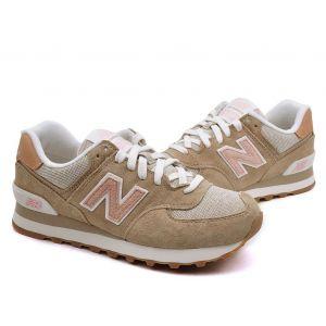 Кроссовки New Balance 574 женские светло-коричневые